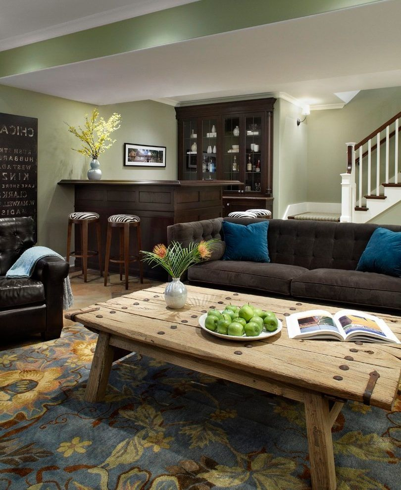 backless short bar basement traditional with blue brooms on basement bar paint colors id=68661