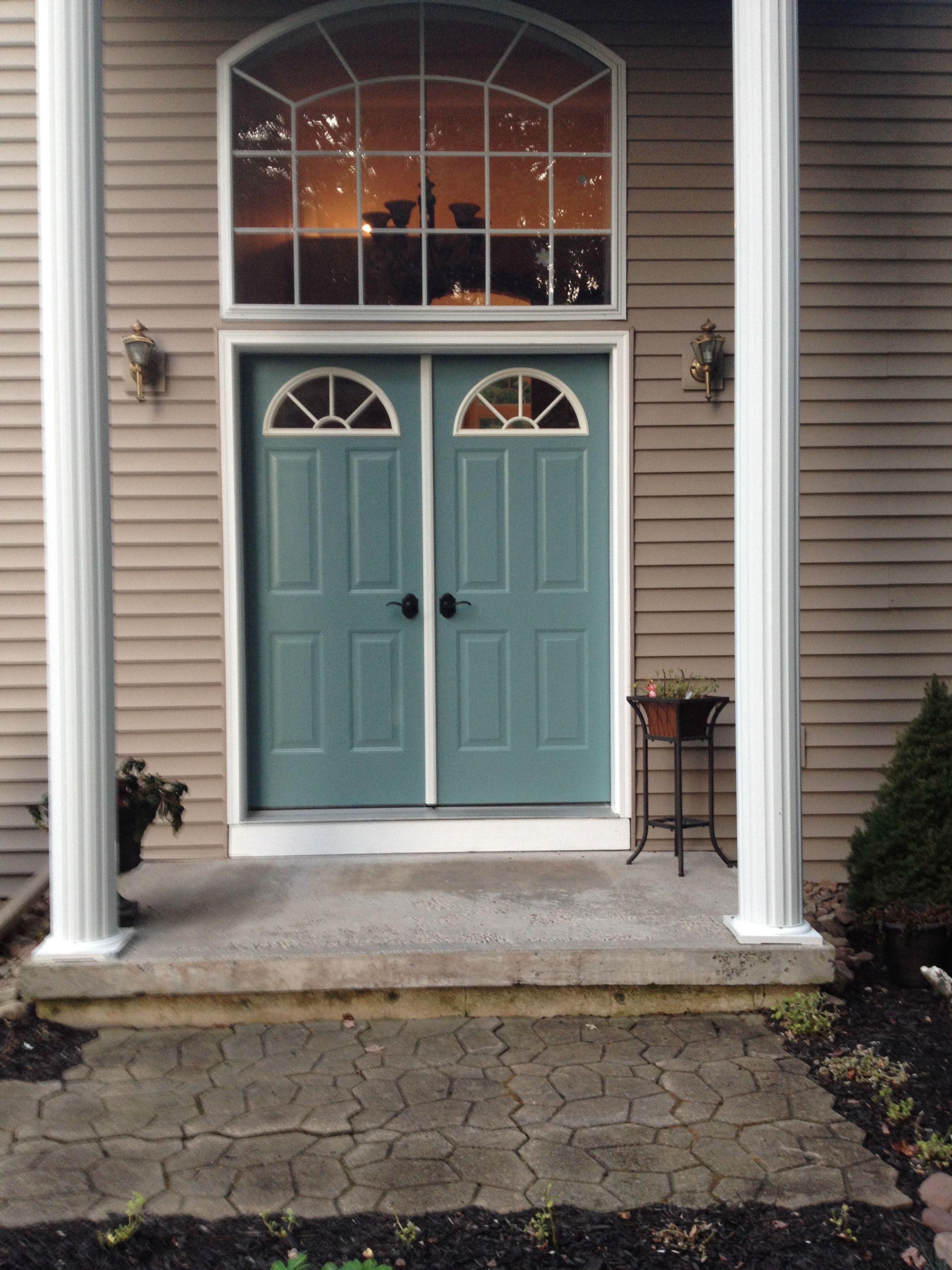 Window design for house exterior  new color for front doors behr paint color