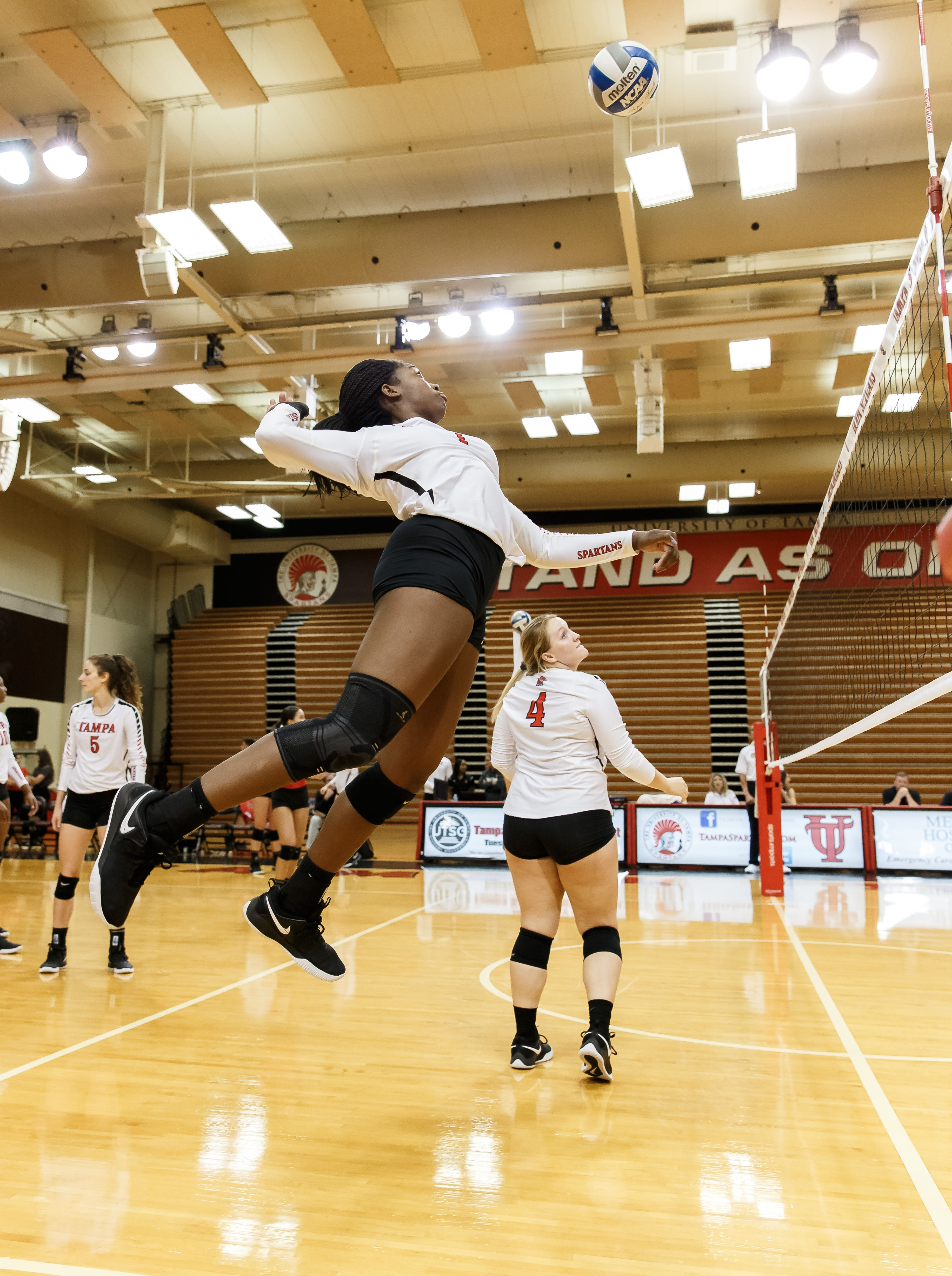 University Of Tampa Spartans Division Ii Athletics Women S Volleyball Women Volleyball Volleyball Sport Volleyball