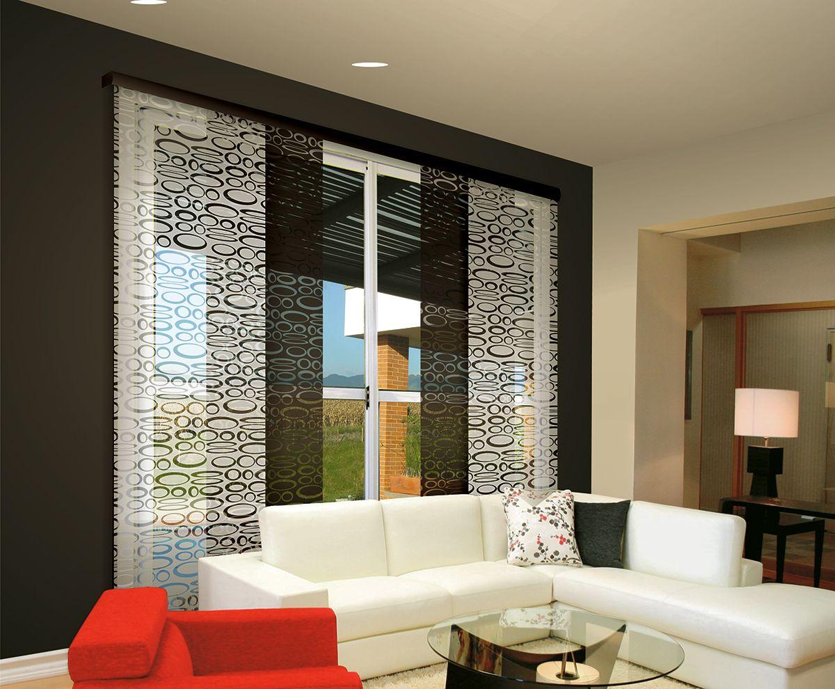 Panel japones cortinas pinterest paneles japoneses - Panel japones salon ...