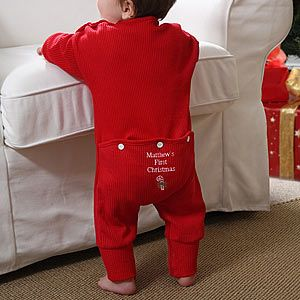 20 Gifts to Commemorate Baby's First Christmas