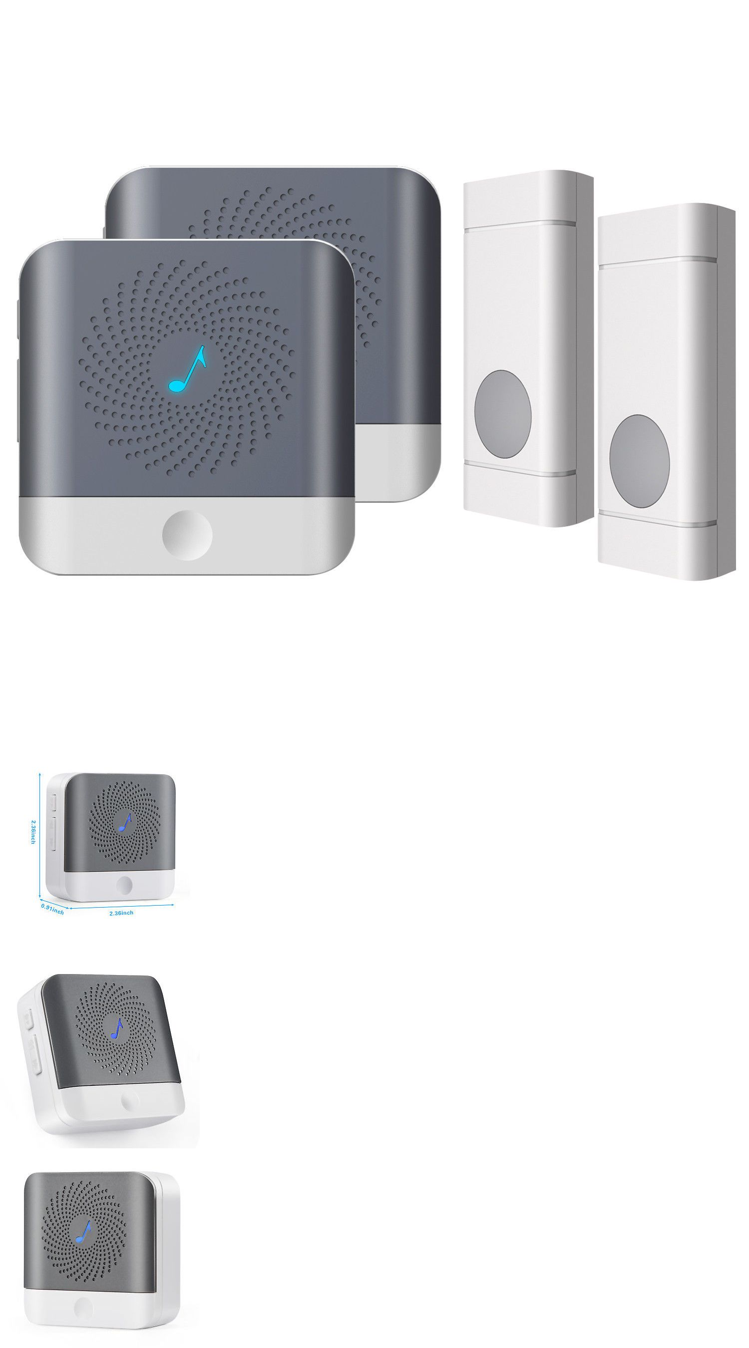 Doorbells 115975 52 Song Wireless Doorbell Remote Control