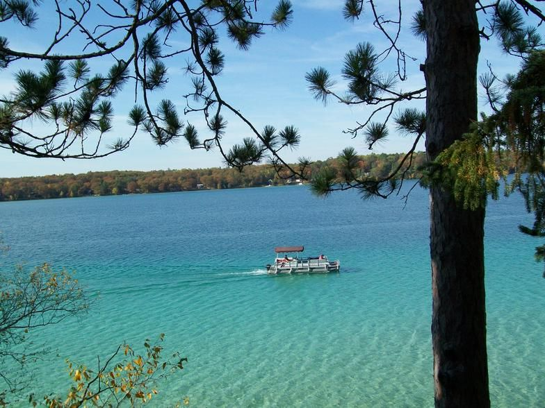 Lake Avalon In Hillman Mi The Water Is Crystal Clear And Just Beautiful