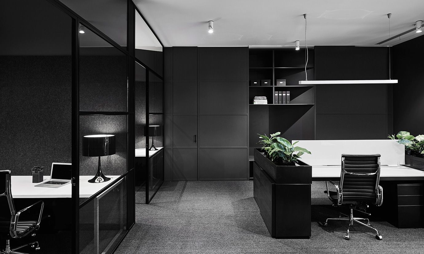 Lechte office fitout in melbourne by plus architecture for Office interiors melbourne