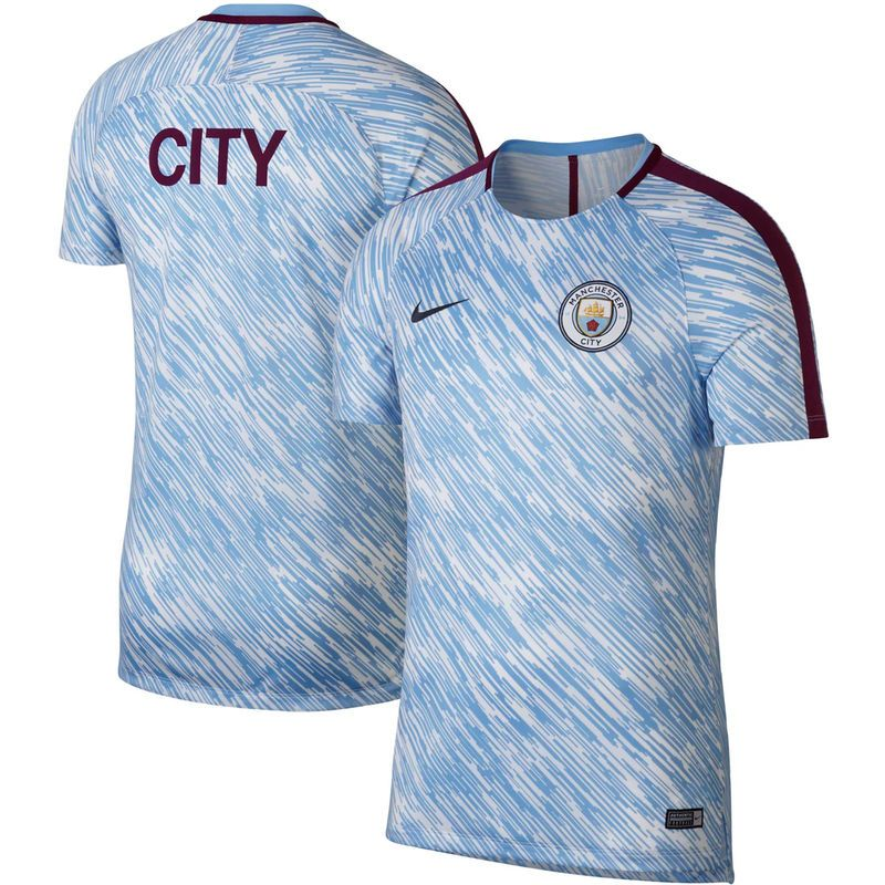 fe9b9a975 Manchester City Nike 2018/2019 Dry Squad GX Performance Training Jersey –  Light Blue