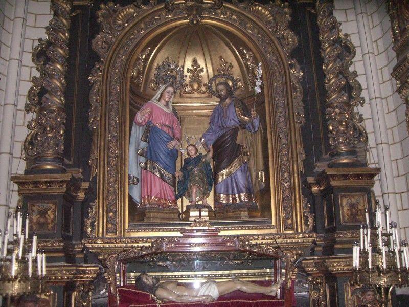 Resultado de imagen de iglesia de santa cruz de madrid