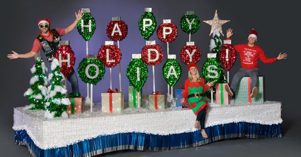 Complete Holiday Parade Float Decorating Kit Christmas