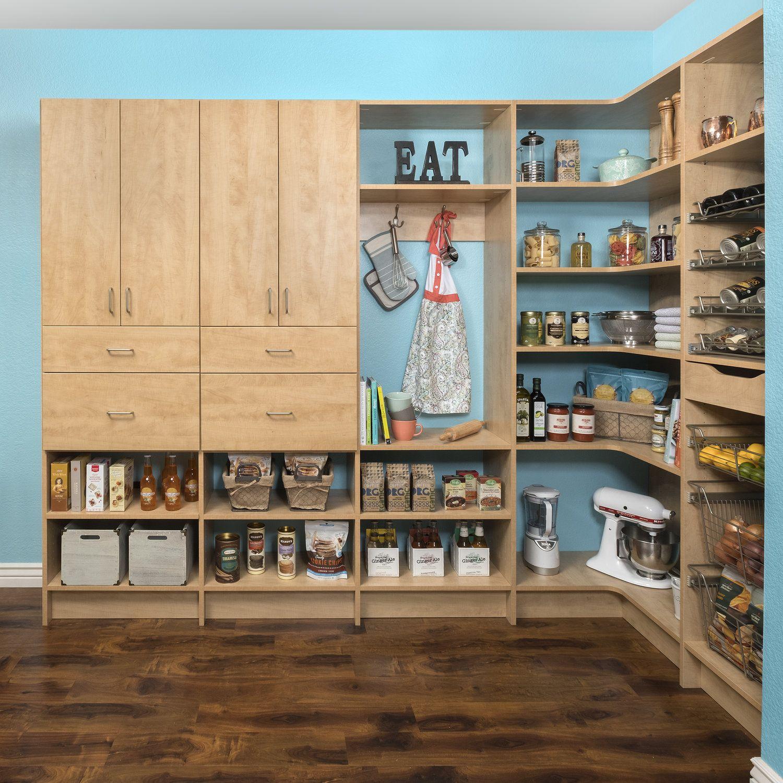 Pantry Closets Of Tulsa Custom Closet Solutions Kitchen Storage Pantry Shelving
