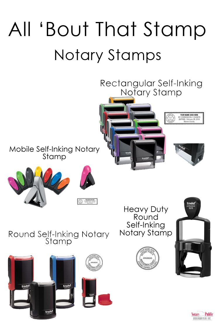 All About That Stamp The Difference In Notary Stamps Notary