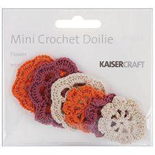 Crochet Doilies 6/Pkg-Retro  4.29