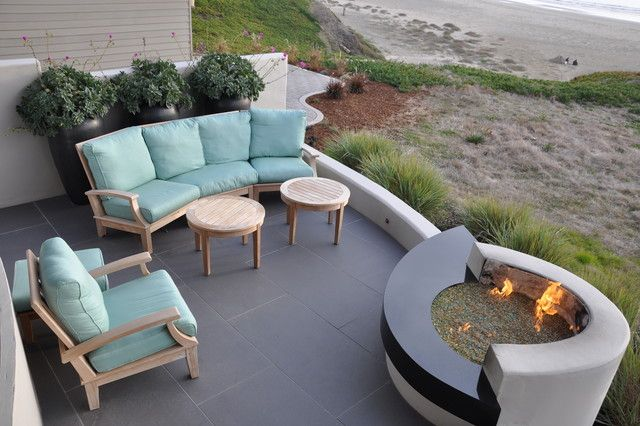 Modern Beach Vision Outdoor Living Pinterest