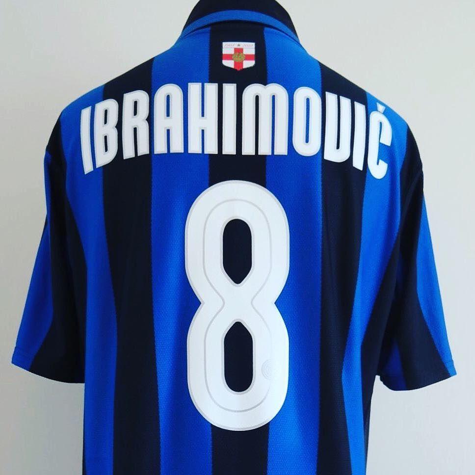 the best attitude c7226 f31db Inter Milan Home Football Shirt M Zlatan #8 classic shirt ...