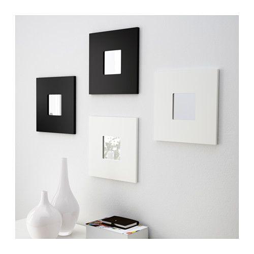 Malma Miroir Blanc Déco Deco Mur Décoration