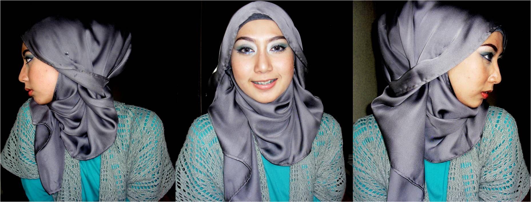 10 Cantik Tutorial Hijab Pashmina Hana Chsi Untuk Santai