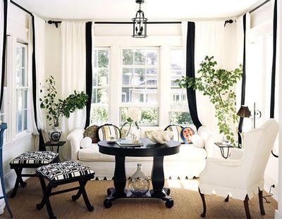 black  white sunporch Porches/Sun Rooms/Swings Pinterest See