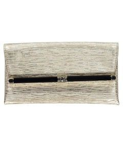 Damen Leder Clutch