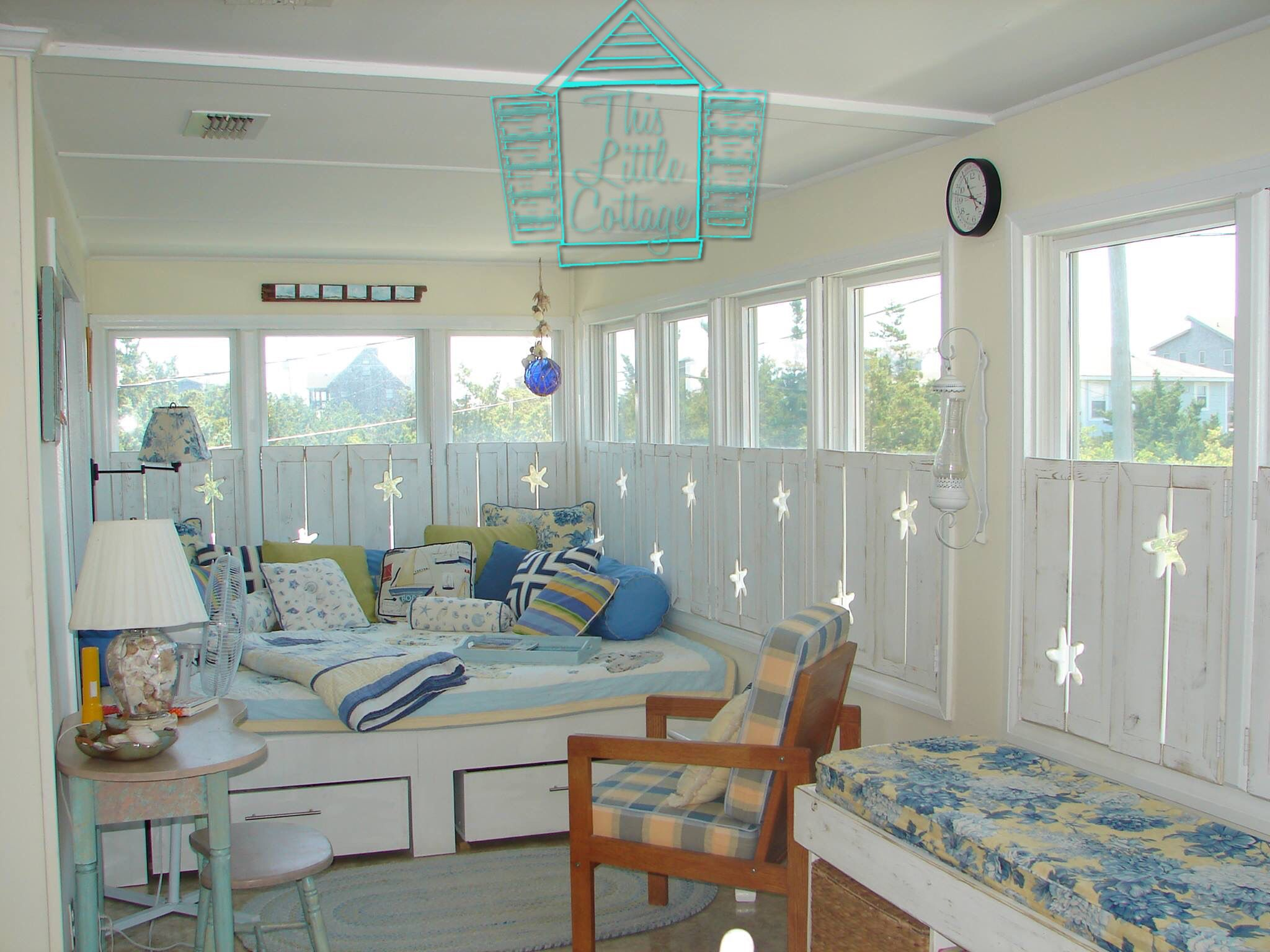 Custom Shutters By This Little Cottage OBX. Hatteras, North Carolina.
