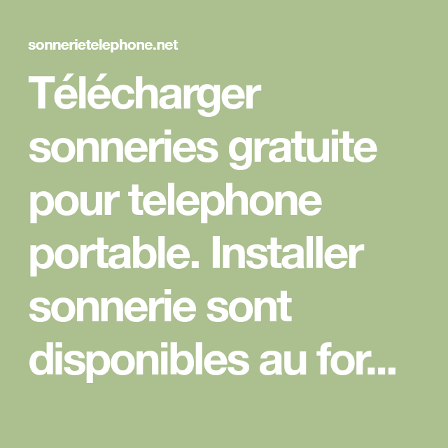 HAPPY DONT WORRY BE TÉLÉCHARGER SONNERIE