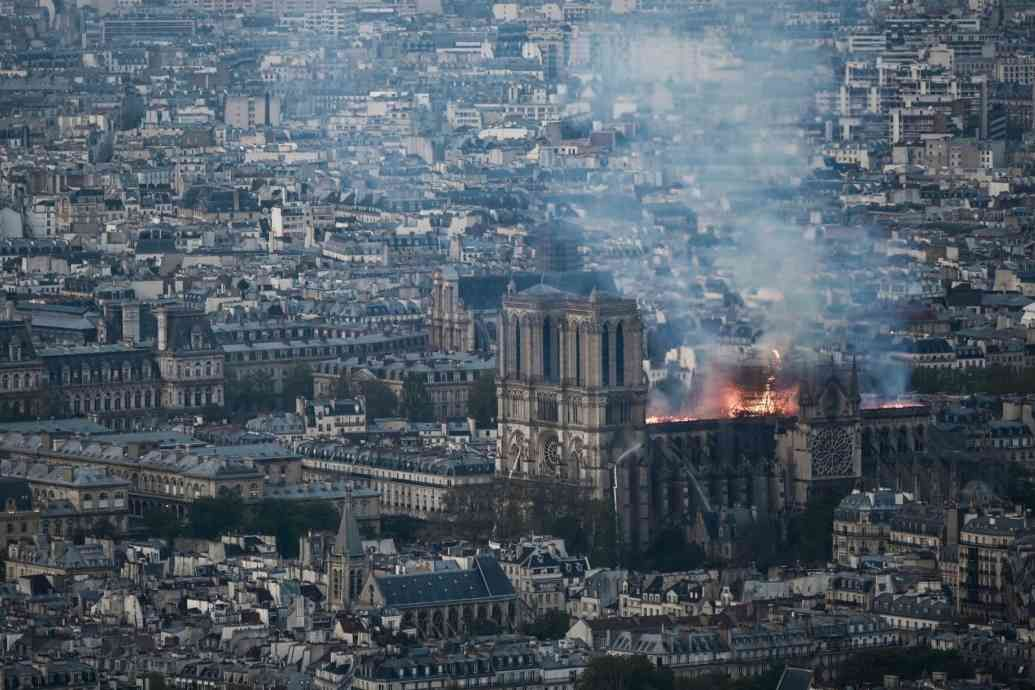 First photos from inside NotreDame After the Fire New