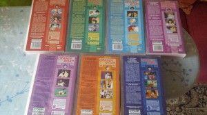 VHS Oranfe Road cartone animato    Il Massimo dei Giocattoli