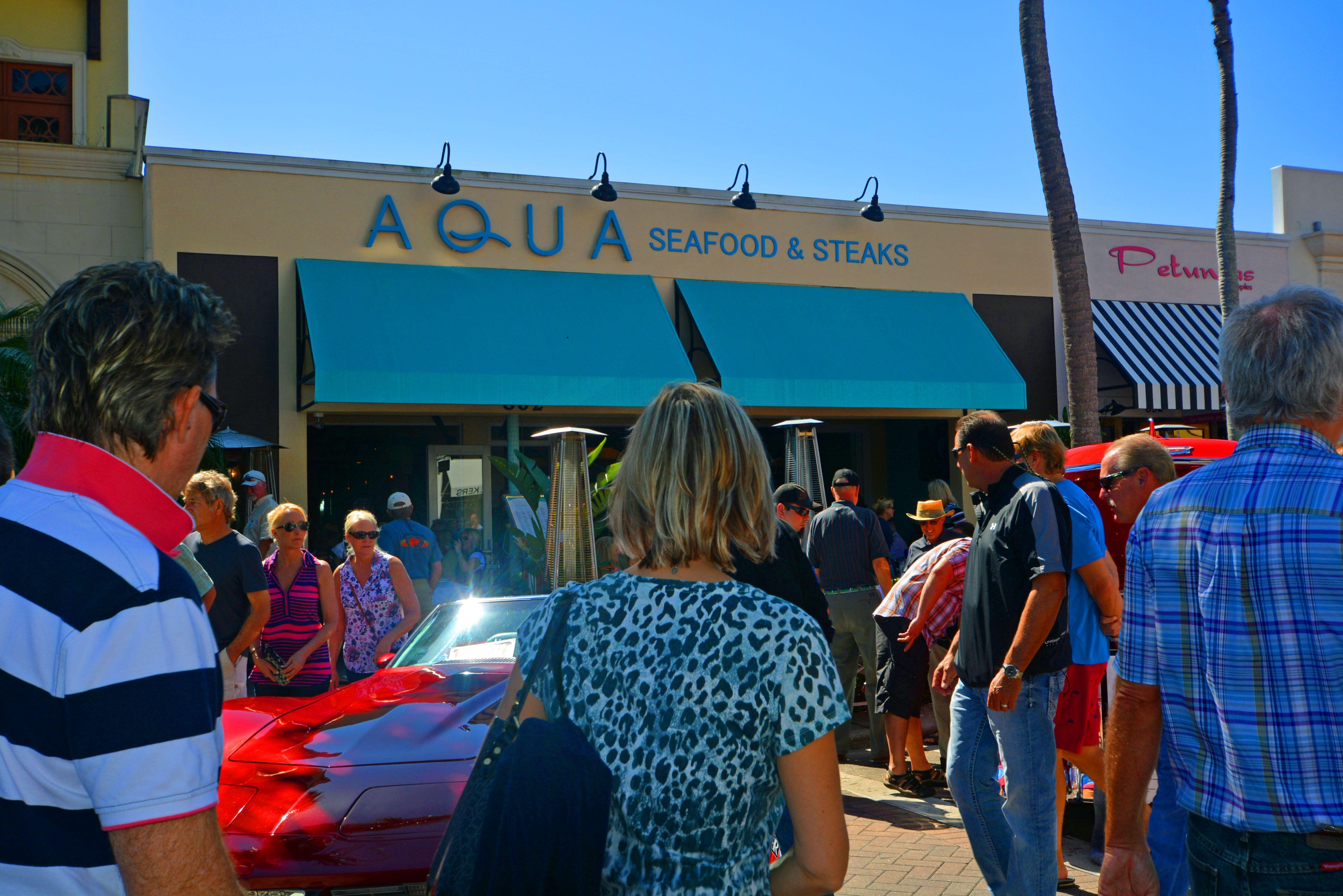 Aqua Seafood And Steaks 5th Ave S Naples Fl Lovingnaplesfl