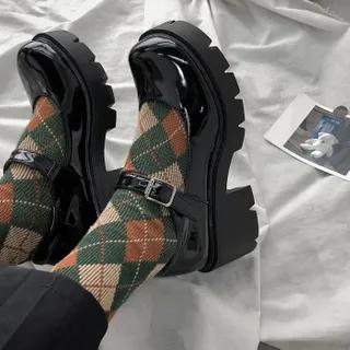 Bolitin Platform-Heel Mary Janes | YesStyle
