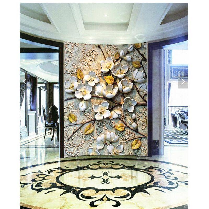 Home Decor wall paper 3d art mural HD European classical style - fototapeten f r k che