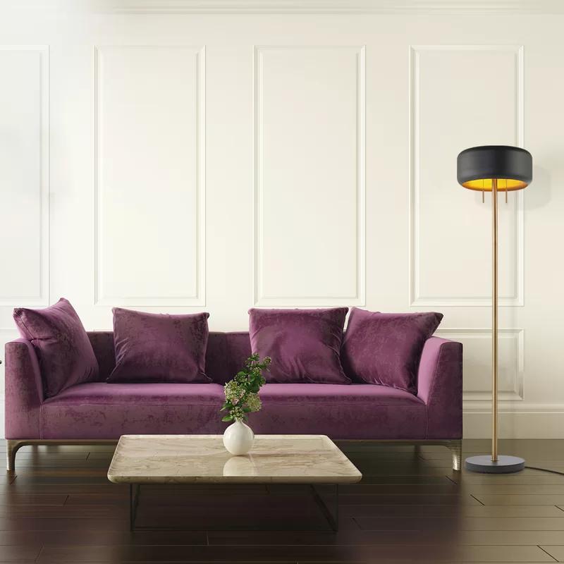 Paulson 59 Floor Lamp In 2020 Floor Lamp Grey Floor Lamp Dark Grey Floor Lamp