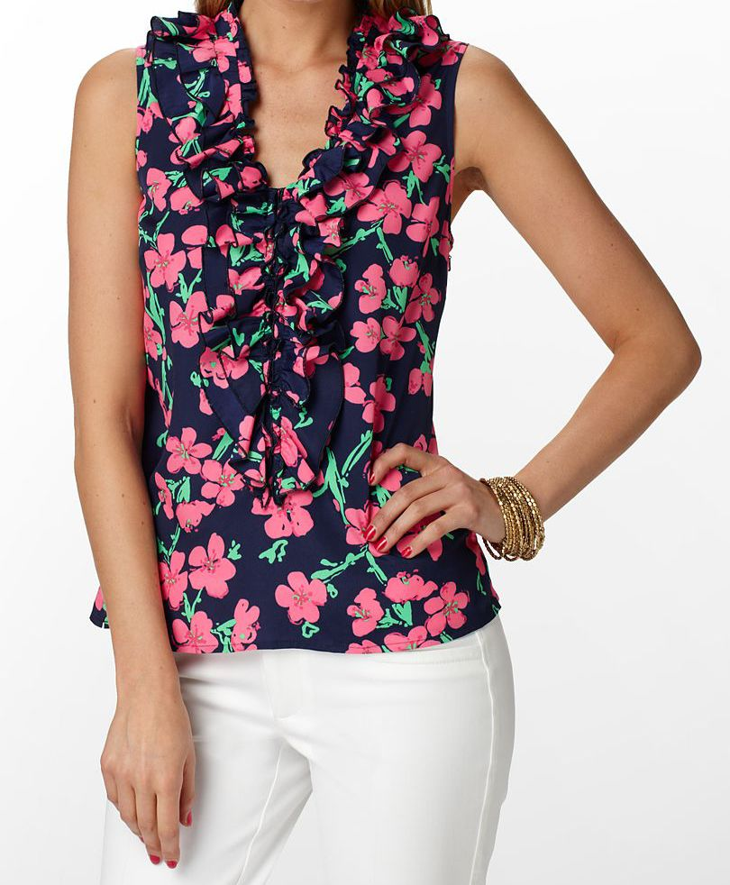 Lilly Pulitzer Allison Top    #LillyPulitzer    http://bit.ly/GzoOrD