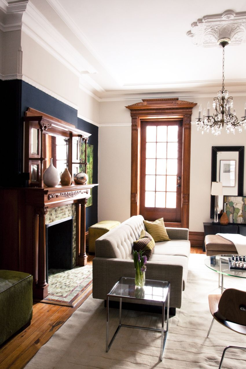 Wooden Furniture Living Room Designs: Rue Magazine (January/February 2011). Designed By Ishka