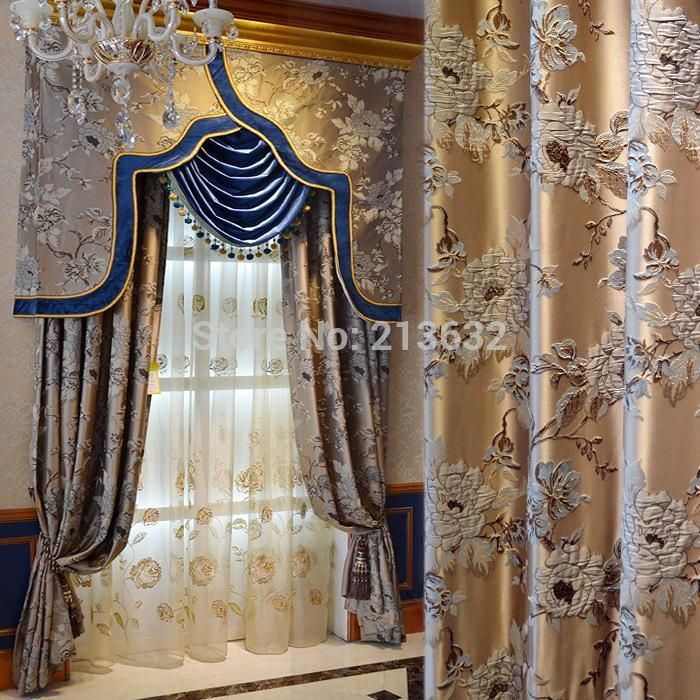 living room window valance ideas%0A Cheap Curtains  Buy Directly from China Suppliers  Curtain Shop fashion window  curtain design ancient Roman style Curtains Luxury Embroidery Flower Royal