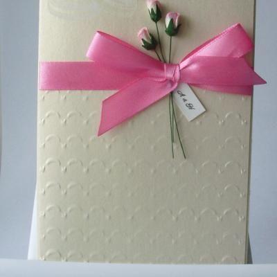 Elegant Handmade Wedding Invitation Card Idea – Ideas for Invitation Cards