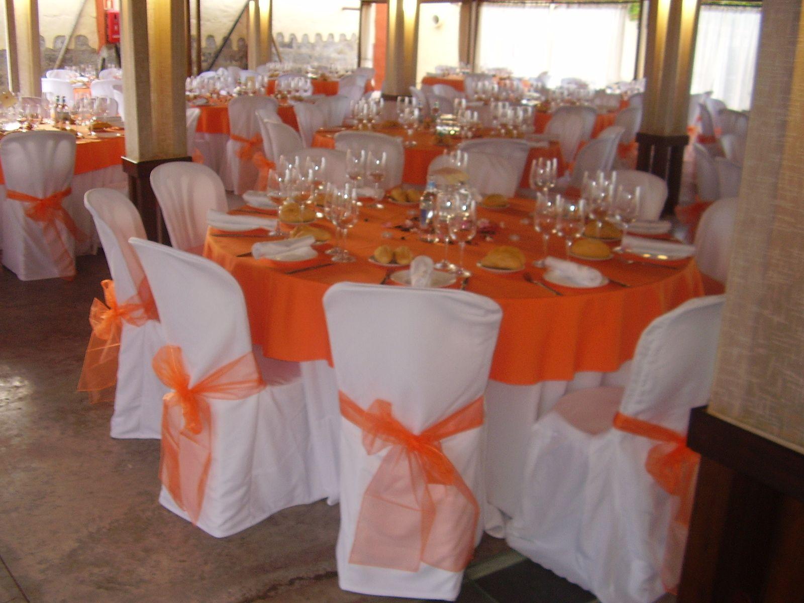Manteleria naranja manteleria pinterest manteler a for Decoracion naranja