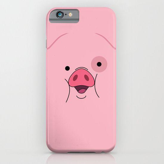 2736991574a Gravity Falls - Waddles iPhone & iPod Case | Gravity Falls | Fundas ...