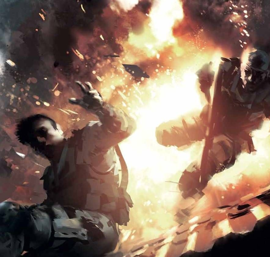 Explosion #ConceptArt from #Battlefield4