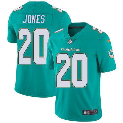 de3e75bdc ... nfl jerseys wholesale Nike Dolphins 20 Reshad Jones Aqua Green Team  Color Mens Stitched NFL Nike Cowboys 50 ...