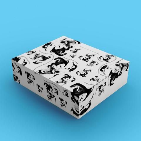 holiday gift wrapping paper wrapping paper ink drawings black and rh pinterest com