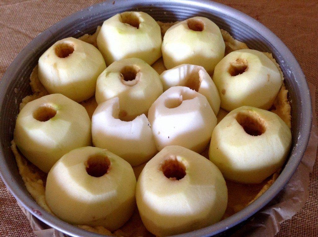 Apfel Sahnepudding Kuchen Einfach Kostlich Einfach Kostlich Lebensmittel Essen Und Kuchen