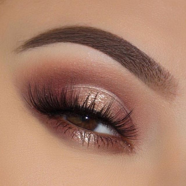 Gorgeous Eye Makeup Looks Gold Eye Makeup Rose Gold Eye Makeup