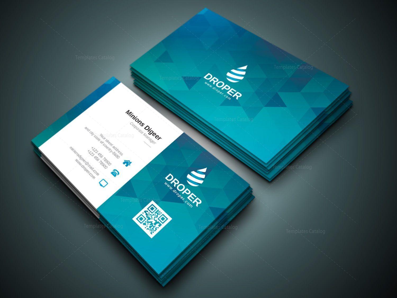 Shark Professional Corporate Business Card Template 000941 Cleaning Business Cards Professional Business Cards Stylish Business Cards