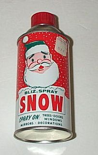 Image result for 1950s spray on snow