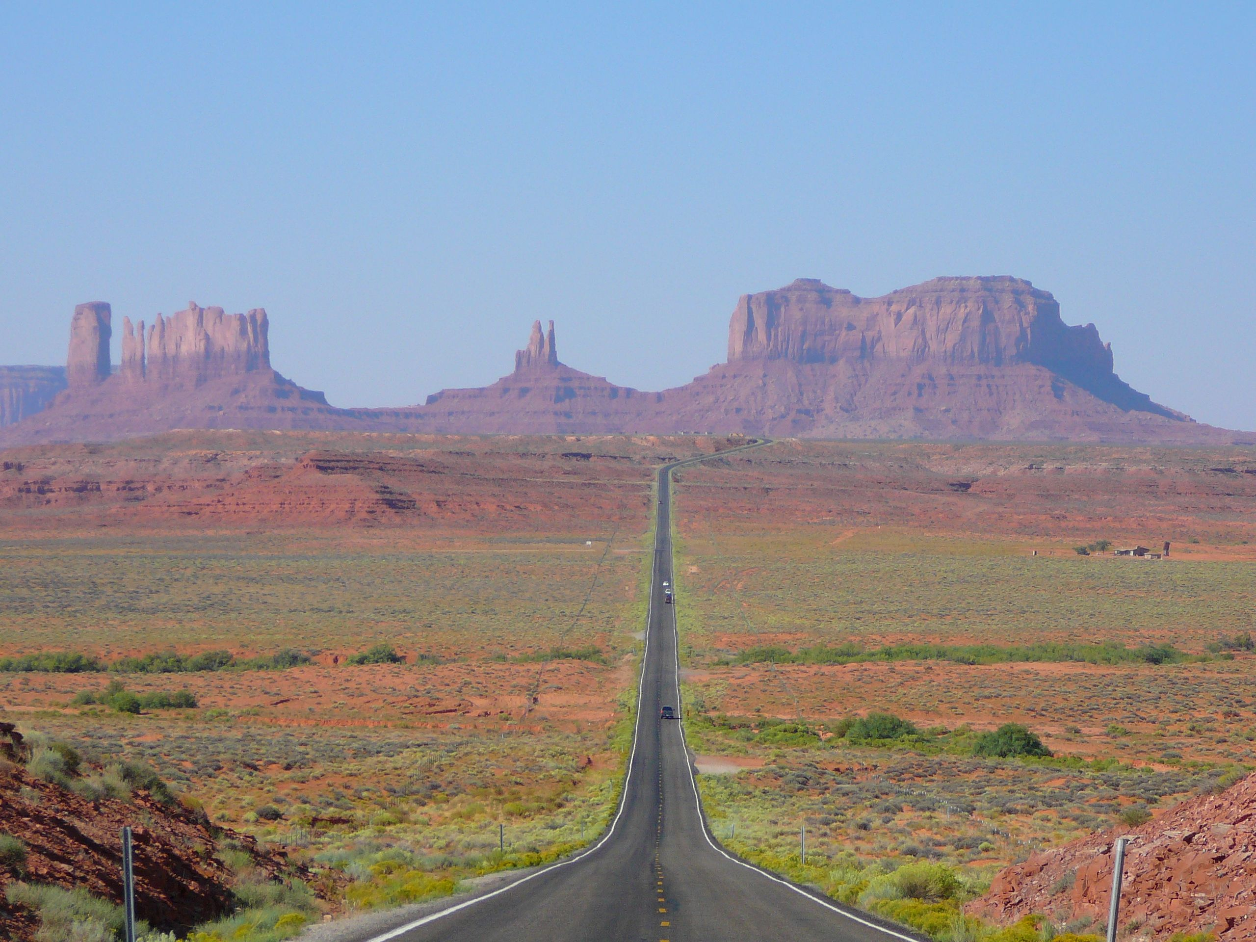 ArizonaUtah Monument Valley is a region