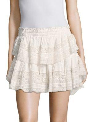 f4416ef53e LOVESHACKFANCY Ruffle Mini Skirt. #loveshackfancy #cloth ...