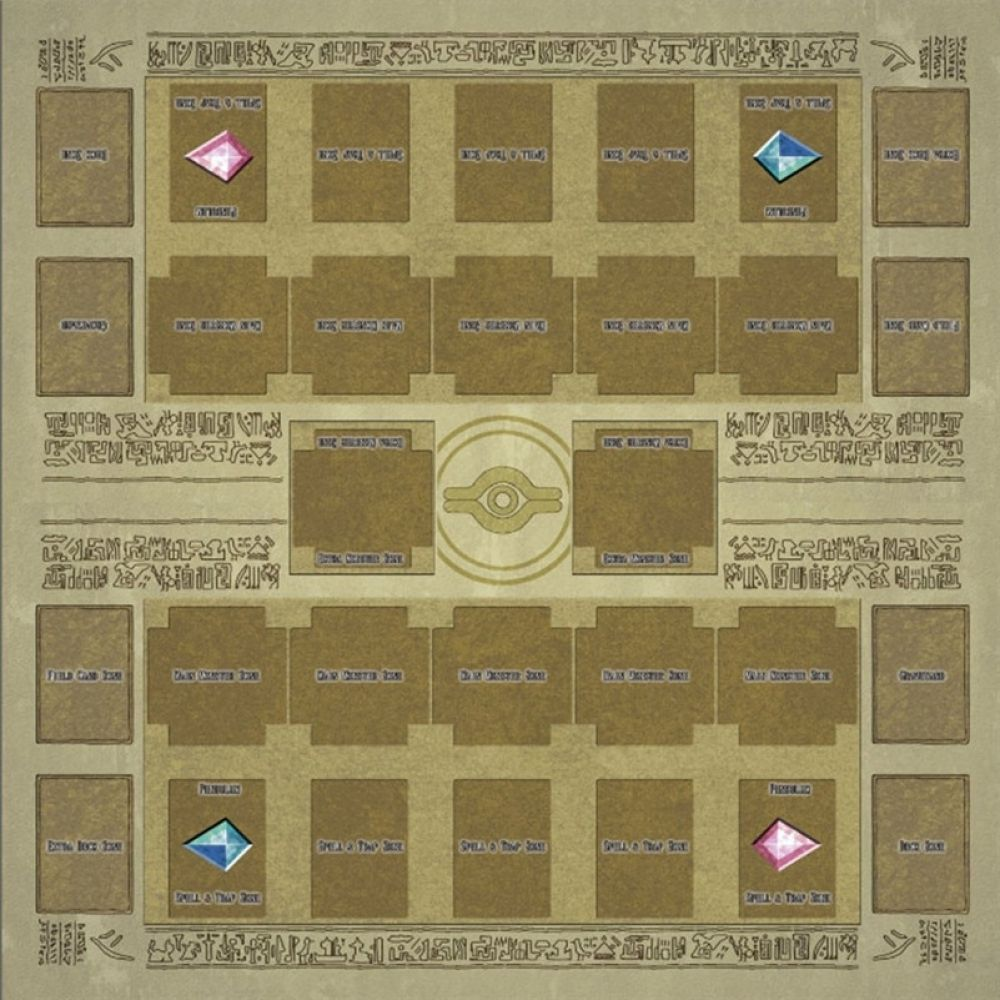 60x60cm Rubber Play Mat Egypt Mural Style Competition Pad For Yu Gi Oh Card Game Collection Card Gift Cards For Boys D4 Price 28 99 Yugioh Summoning Mural