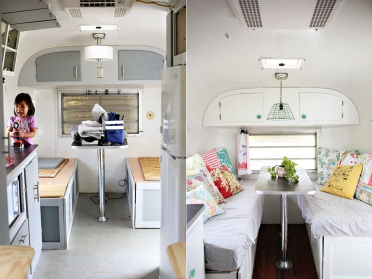 Ideas from under the sycamore 39 s trailer re do i want for Sycamore interior designs