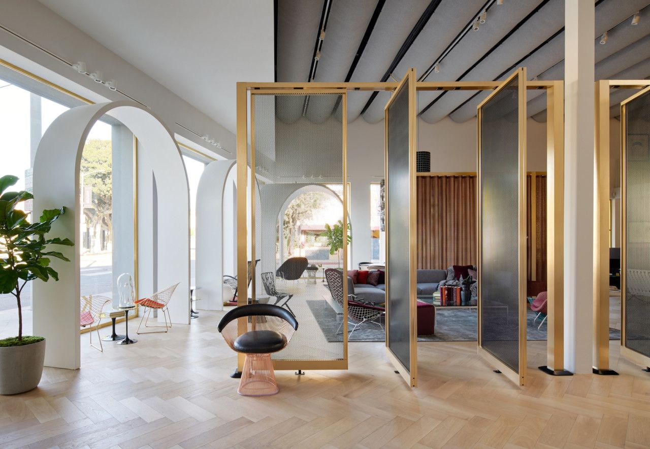 knoll creates a moroccan inspired showroom for its home design shop rh pinterest com