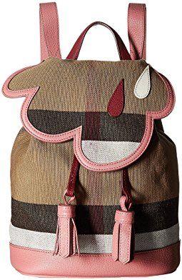 Burberry Kids Mini Backpack Lc Girl Accessories Pinterest