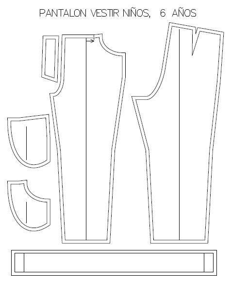 Patrones Para Moldes Niño Pantalon Niños De Vestir wa1qPX1