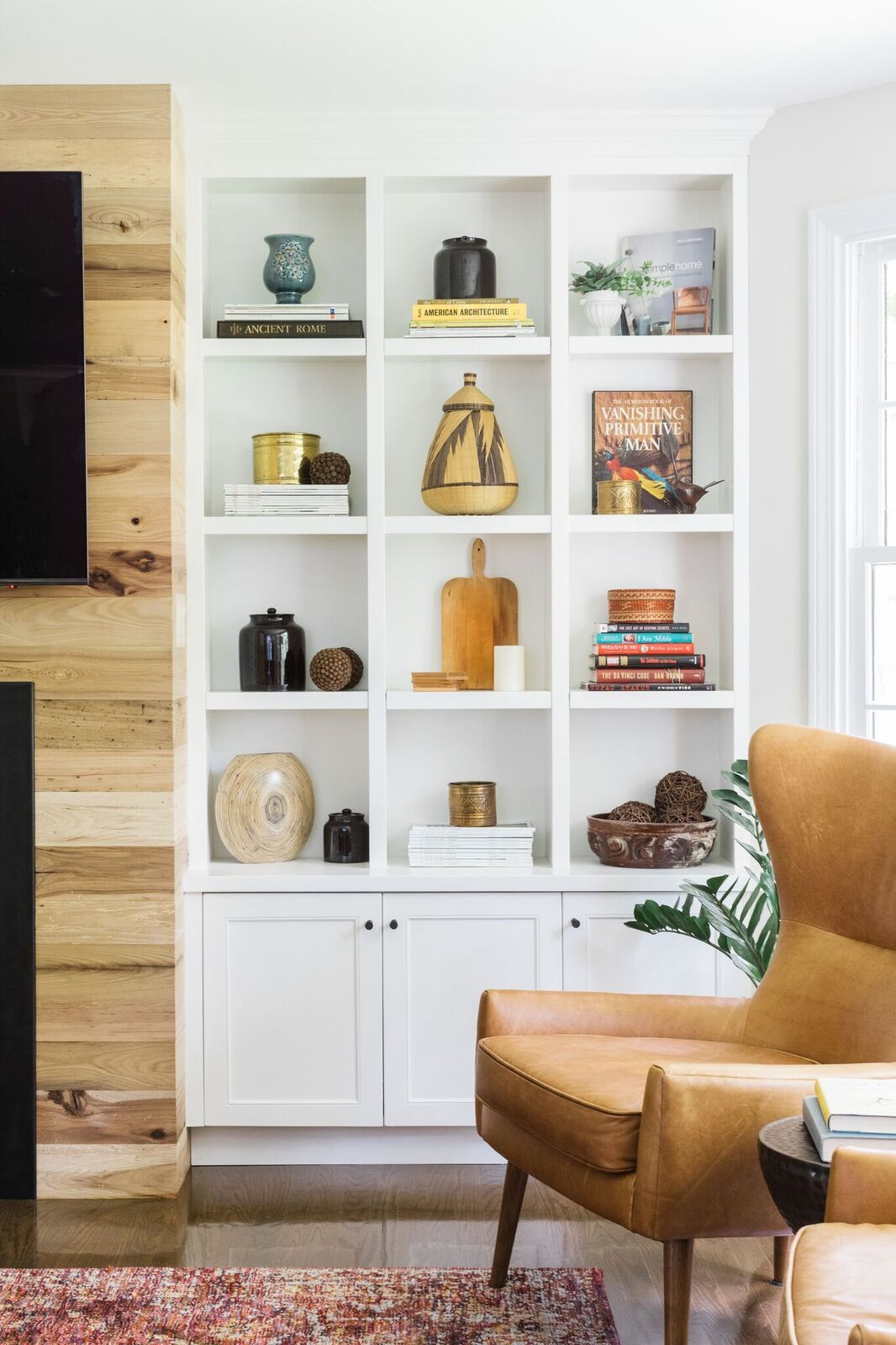 House White interior built ins styling
