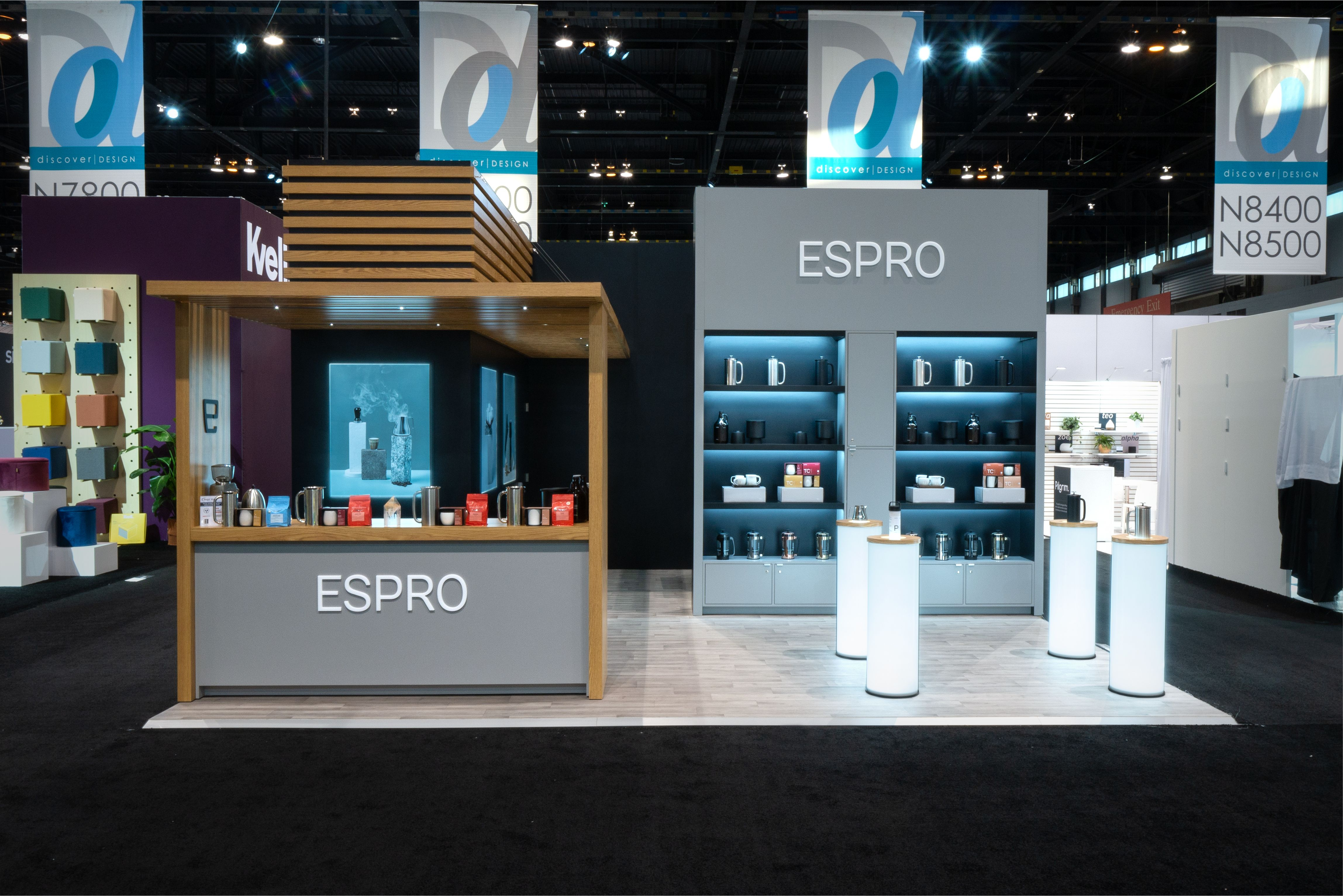 Espro At Ihs 2019 Chicago By Mackenzie Exhibit Tradeshow Exhibit Brand In 2020 Exhibition Booth Design Booth Design Trade Show Display